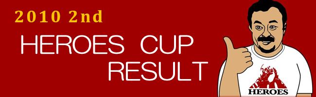 第2回ヒーローズカップ結果